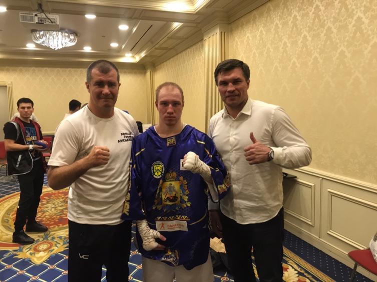 второй бой Ярослава Безсолова по профи_1