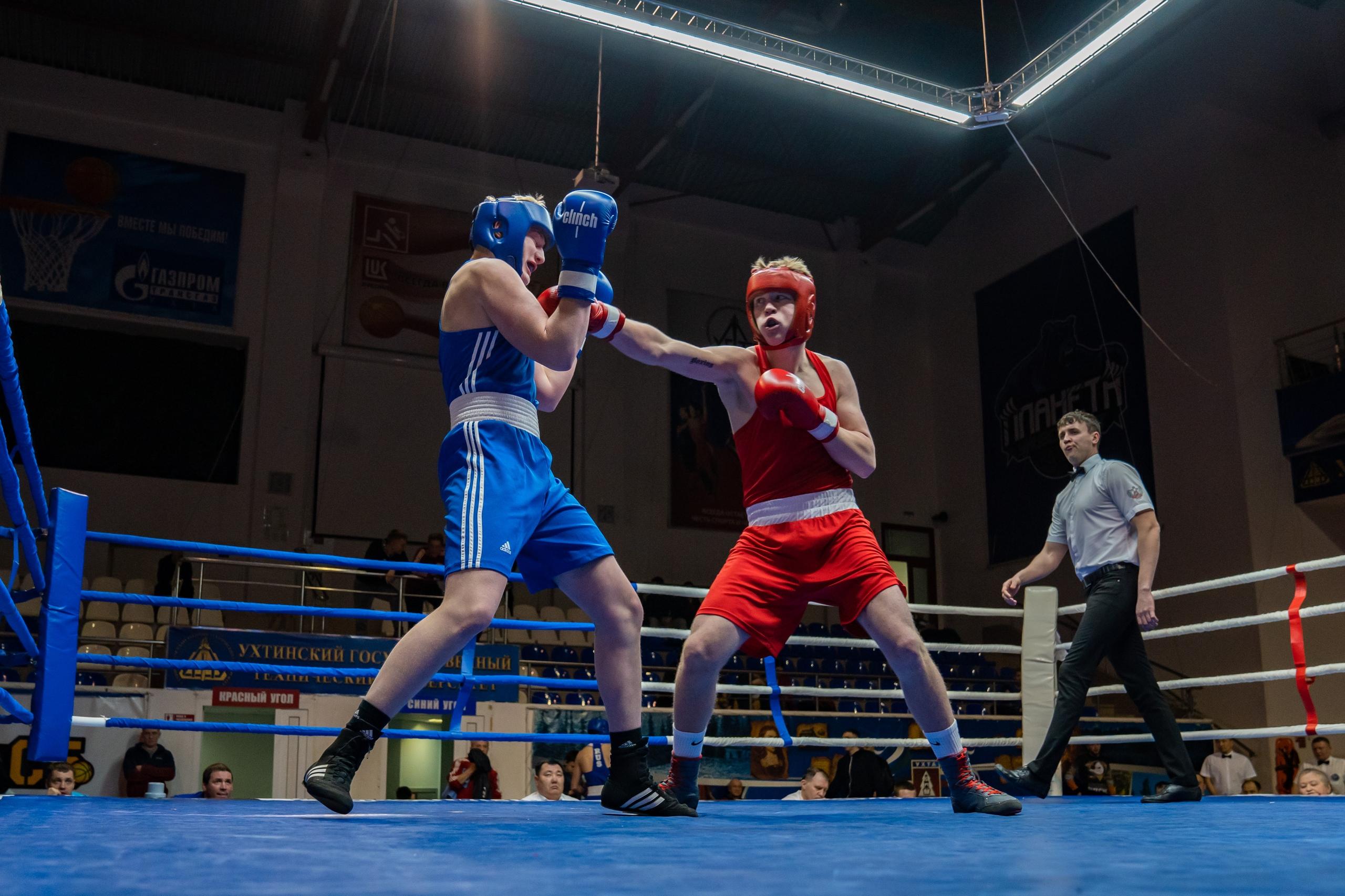Фото с первенства СЗФО по боксу среди юниоров Ухта 2020_2