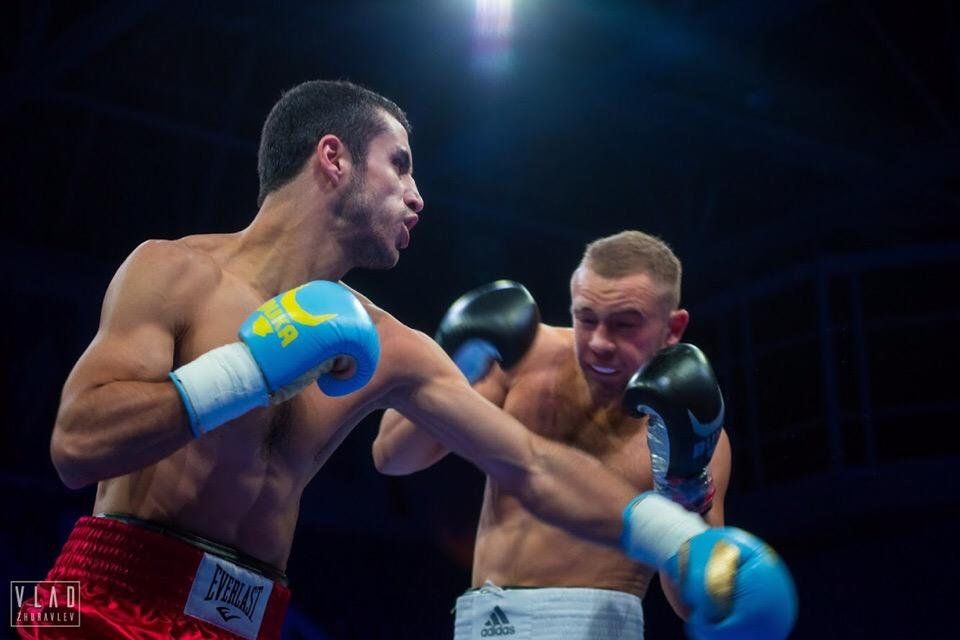 Фото-отчет с второго поединка Вячеслава Летовальцева на проф-ринге