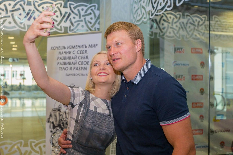 Фотоотчет с мастер-класса Александра Поветкина в клубе